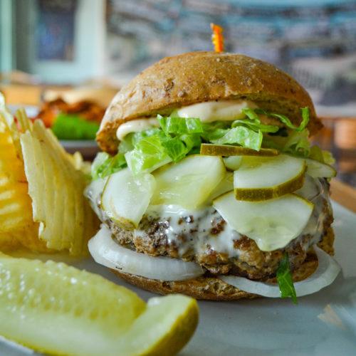 Turkey Burger Dewey Beach Restaurant Dewey Beach