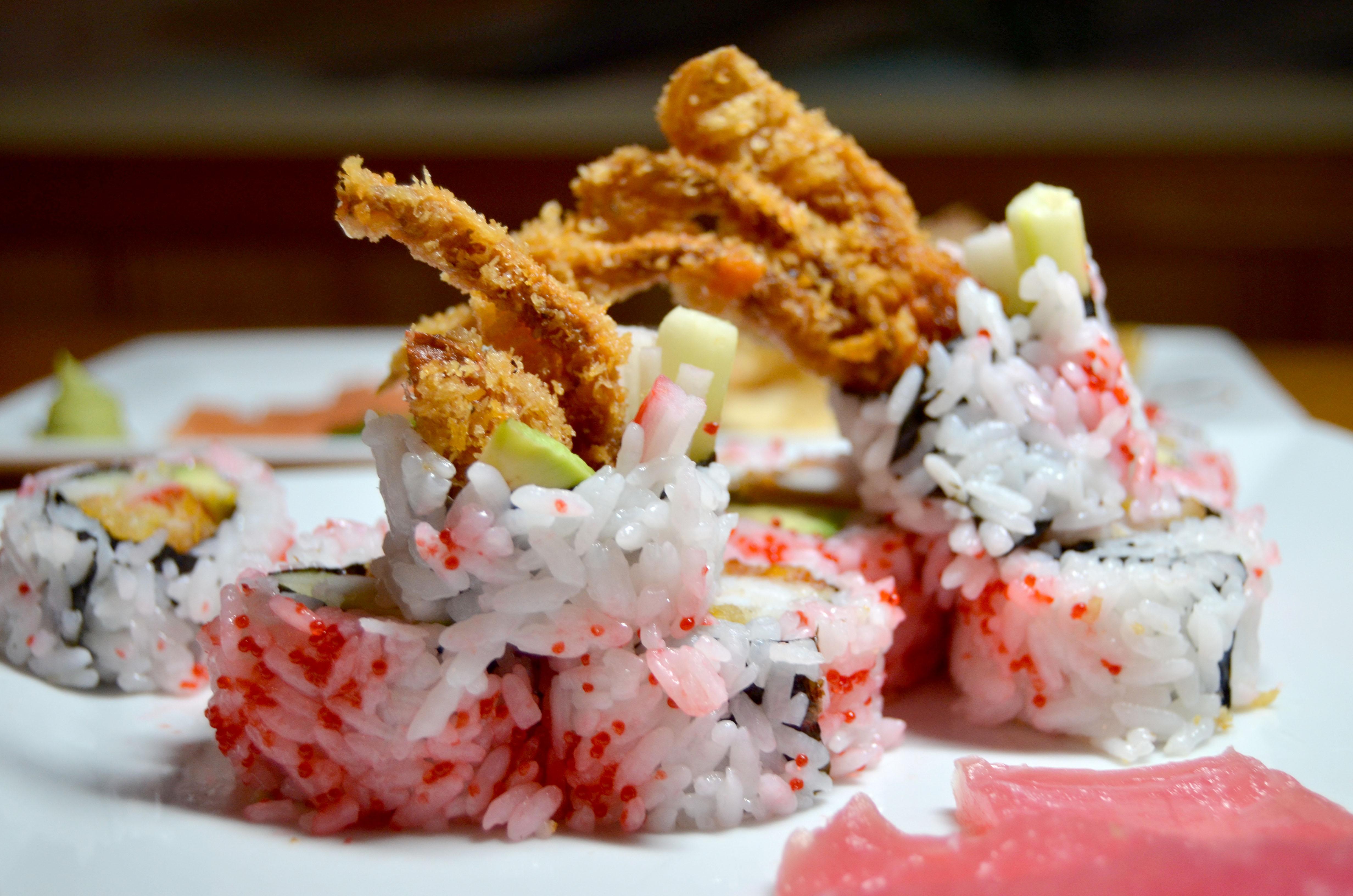 Sushi in Dewey Beach